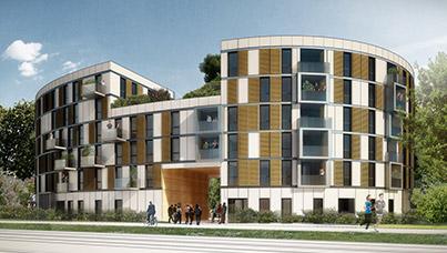Été 2017, ouverture d'une résidence étudiantes à Saint-Germain-en-Laye