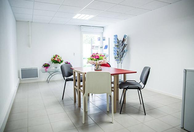 Photo de l'espace commun de la résidence étudiante J-F.de La Pérouse à Versailles (78000)