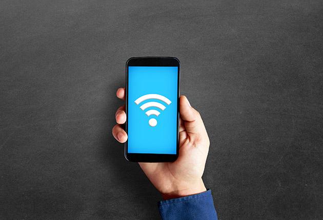 Illustration d'un accès wifi pour les résidences Agefo