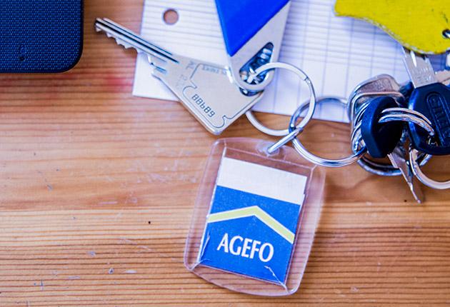 Badge d'accès réservé aux locataires des résidence d'Agefo en Ile-de-France