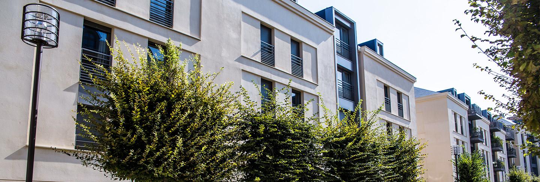 Façade de la résidence pour étudiants J-F de la Pérouse gérée par l'Agefo
