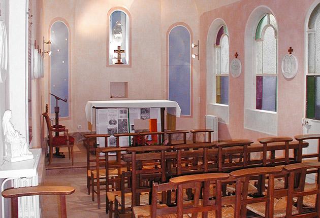 Chapelle de Résidence J. Lejeune pour les étudiants, Paris 75015