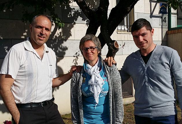 Photo de l'équipe du pôle de Poissy de l'Agefo, gestionnaire de résidences pour jeunes actifs, étudiants et senior en Ile-de-France