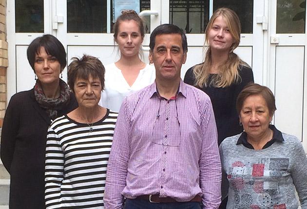 Photo de l'équipe du pôle Paris de l'Agefo, gestionnaire de résidence pour seniors, étudiants et jeunes actifs en Ile-de-France