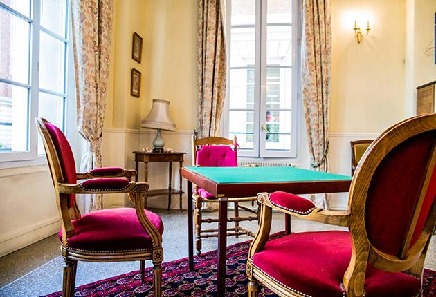 Espace commun de la maison de retraite du Pavillon M.Caters, Paris 75015