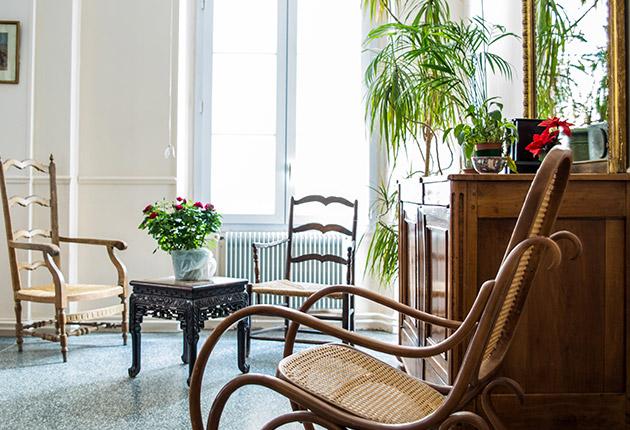 Espace détente de la maison de retraite du Pavillon M.Caters, Paris 75015