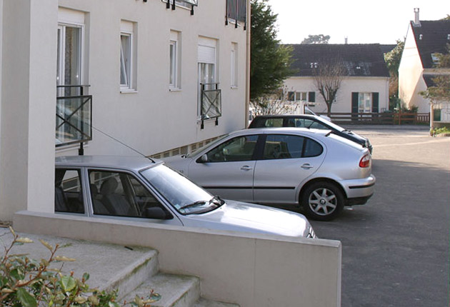 Parking de la résidence Saint-Camille, Margency (95580)