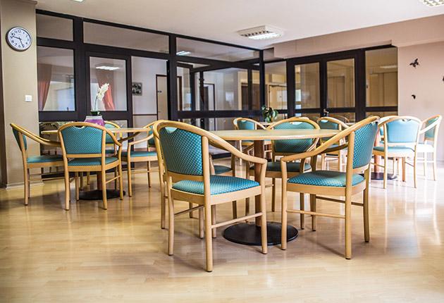 Salle commune de la maison de retraite C.Foucauld à Saint-Brice-Sous-Forêt (95350)
