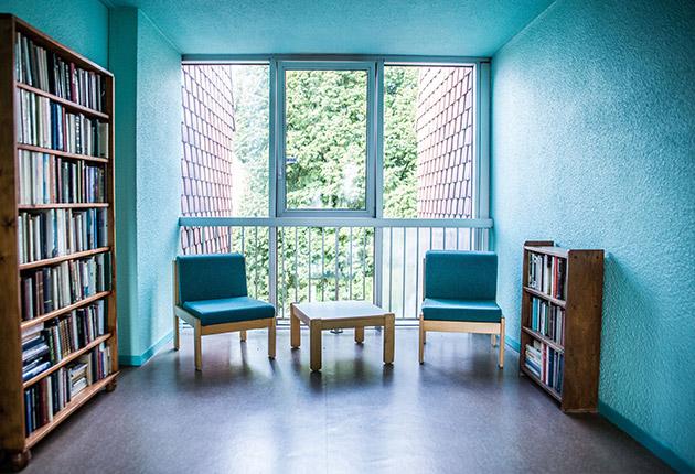 Petit salon d'ambiance de la maison de retraite C.Foucauld à Saint-Brice-Sous-Forêt (95350)