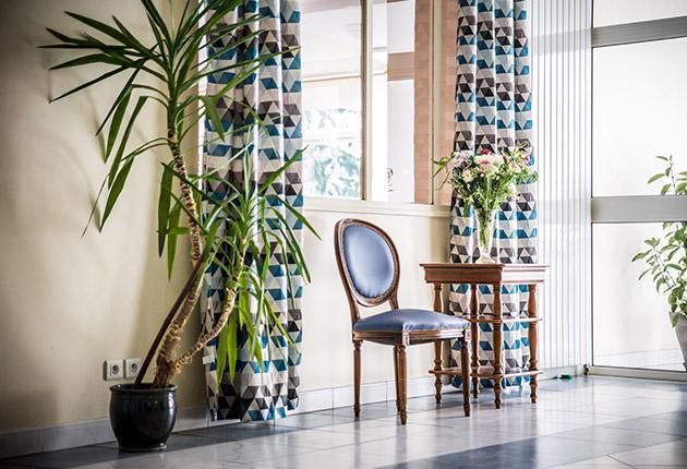 Hall d'entrée décoré de la maison de retraite E.Dobler à Soisy-Sous-Montmorency 95230