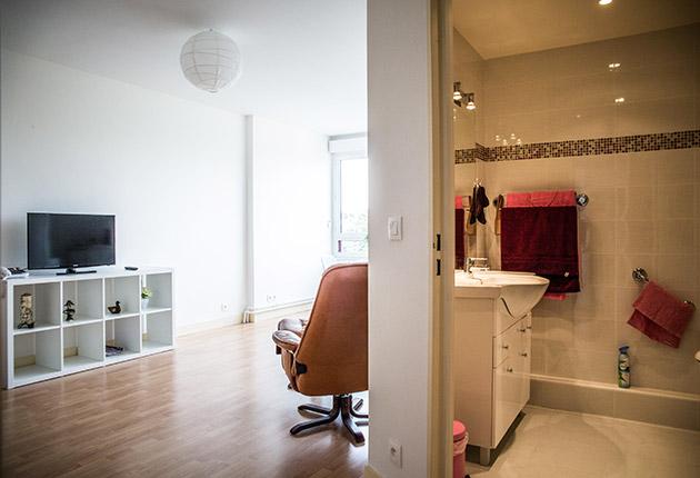 intérieur appartement de la maison de retraite E.Dobler à Soisy-Sous-Montmorency 95230