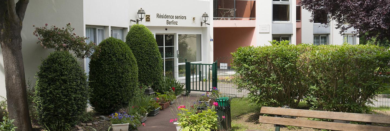 Entrée de la maison de retraite H.Berlioz à Saint-Germain-En-Laye (78100)