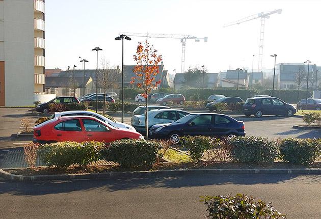 Parking de la résidence G.Monchaux, Achères (78260)