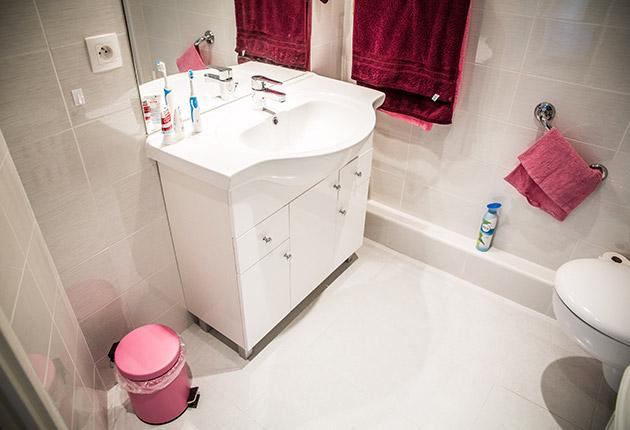 Salle de bain d'un appartement de la maison de retraite E.Dobler à Soisy-Sous-Montmorency 95230