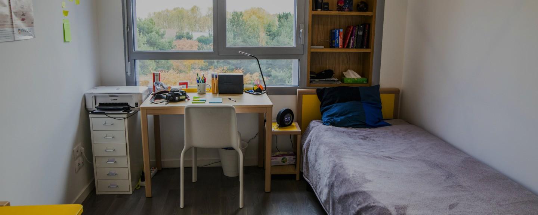 chambre résidence étudiante Villejuif